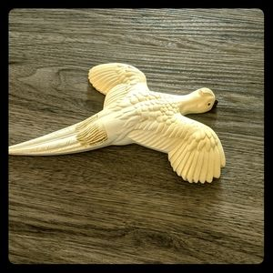 Vintage bird wall hanging